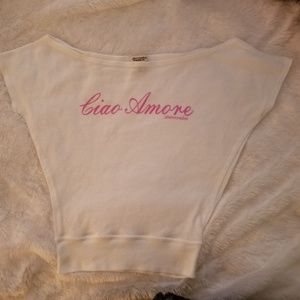 Abercrombie Ciao Amore Girls t-shirt size L